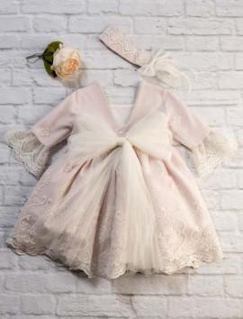 Vestido modelo Olivia color rosa