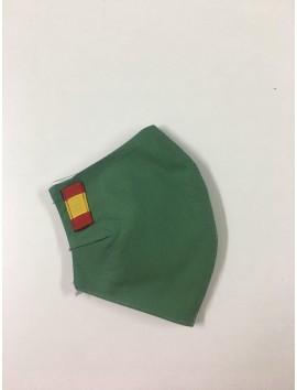 Mascarillas Higiénicas - España verde