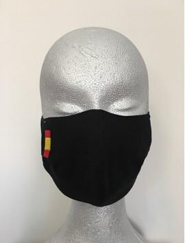 Mascarillas Higiénicas -España negra