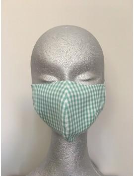 Mascarillas Higiénicas - Vichy verde claro
