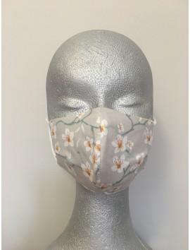 Mascarilla Higiénica Reutilizable -Almendro gris